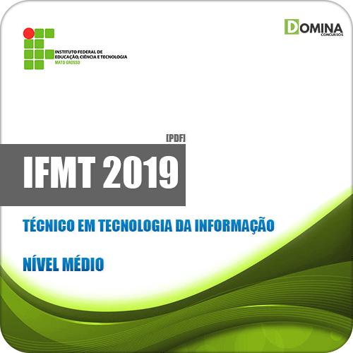 Apostila Concurso IFMT 2019 Técnico em Tecnologia da Informação