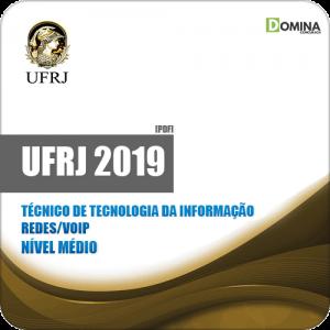Apostila UFRJ 2019 Técnico Tecnologia Informação Redes VOIP
