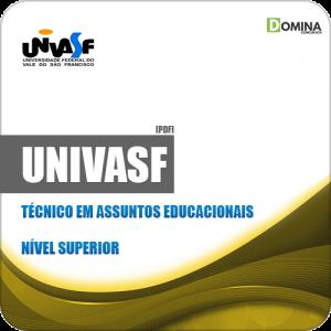 Apostila UNIVASF 2019 Técnico em Assuntos Educacionais