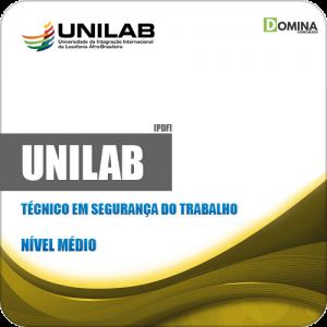 Apostila UNILAB 2019 Técnico em Segurança do Trabalho