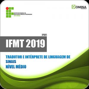 Apostila IFMT 2019 Tradutor e Intérprete de Linguagem de Sinais