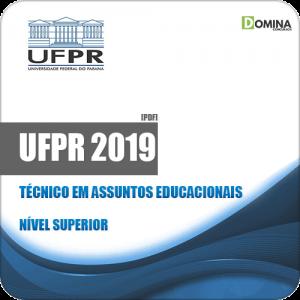 Apostila Concurso UFPR 2019 Técnico em Assuntos Educacionais
