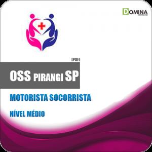 Apostila Concurso OSS Pirangi SP 2019 Motorista Socorrista