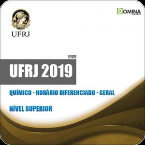 Apostila Concurso UFRJ 2019 Químico Horário Diferenciado Geral