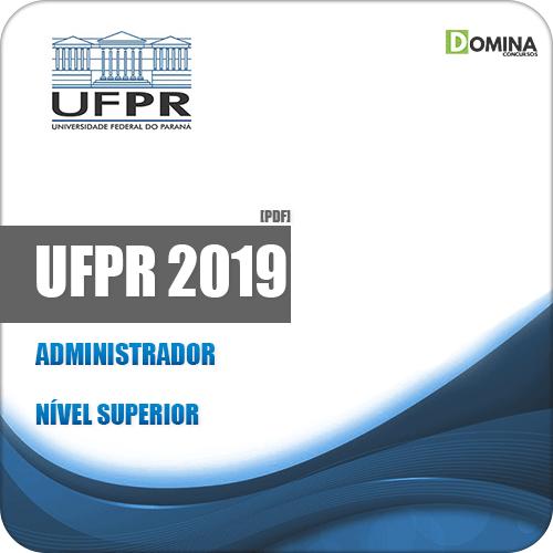 Apostila Concurso Público UFPR 2019 Administrador