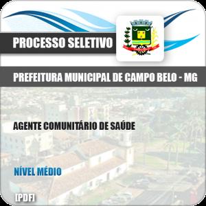 Apostila Pref Campo Belo MG 2019 Agente Comunitário de Saúde