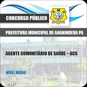 Apostila Pref Ananindeua PA 2019 Agente Comunitário de Saúde ACS
