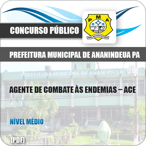 Apostila Pref Ananindeua PA 2019 Agente Combate às Endemias ACE