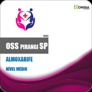 Apostila Concurso Público OSS Pirangi SP 2019 Almoxarife