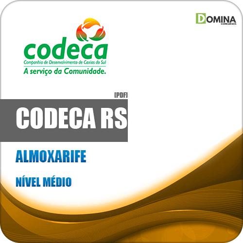 Apostila Concurso CODECA Caxias do Sul RS 2019 Almoxarife
