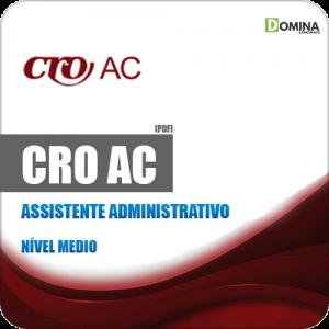 Apostila Concurso Público CRO AC 2019 Assistente Administrativo