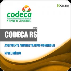 Apostila CODECA Caxias do Sul RS 2019 Assistente ADM Comercial