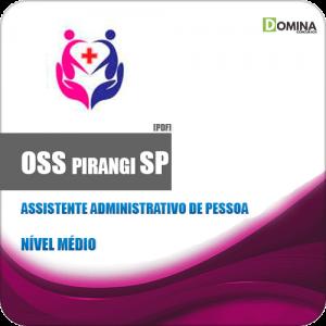Apostila OSS Pirangi SP 2019 Assistente Administrativo de Pessoa