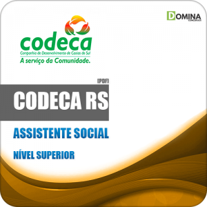 Apostila Concurso CODECA Caxias do Sul RS 2019 Assistente Social