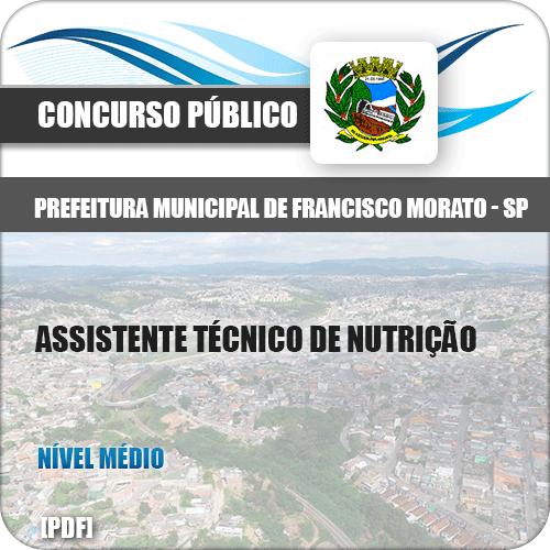 Apostila Pref Francisco Morato SP 2019 Assistente Técnico Nutrição