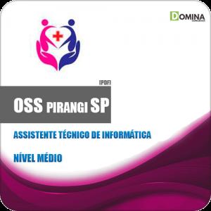 Apostila OSS Pirangi SP 2019 Assistente Técnico de Informática