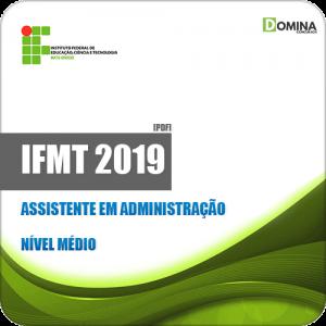 Apostila Concurso IFMT 2019 Assistente em Administração