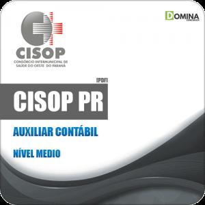 Apostila Processo Seletivo CISOP 2019 Auxiliar Contábil