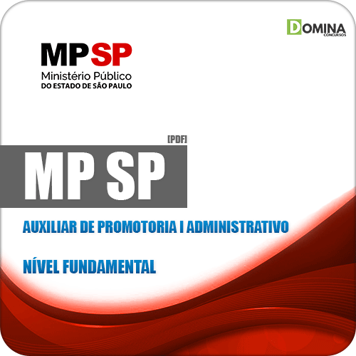 Apostila MP SP 2019 Auxiliar de Promotoria I Administrativo
