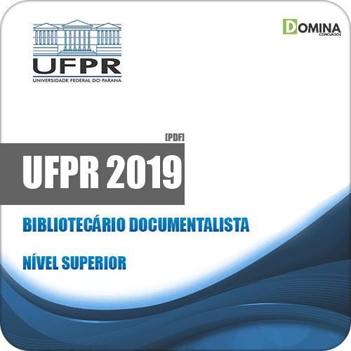Apostila Concurso UFPR 2019 Bibliotecário Documentalista