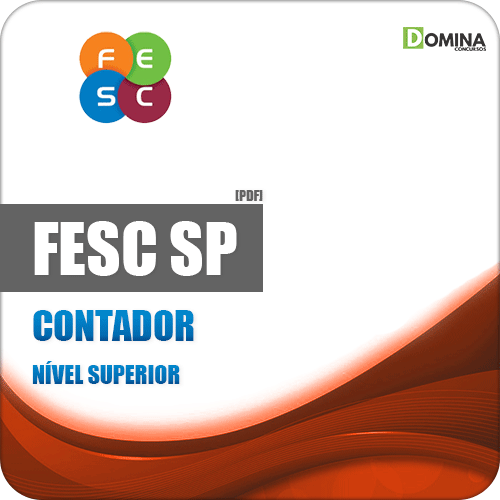 Apostila Concurso Público FESC SP 2019 Contador