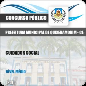 Apostila Concurso Pref Quixeramobim CE 2019 Cuidador Social