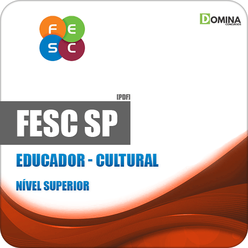 Apostila Concurso Público FESC SP 2019 Educador Cultural