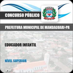 Apostila Concurso Mandaguari PR 2019 Educador Infantil