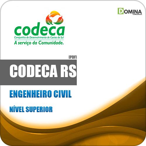 Apostila Concurso CODECA Caxias do Sul RS 2019 Engenheiro Civil