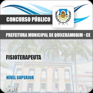 Apostila Concurso Pref Quixeramobim CE 2019 Fisioterapeuta