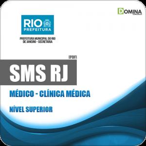 Apostila Concurso Público SMS RJ 2019 Médico Clínica Médica