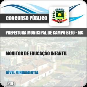 Apostila Pref Campo Belo MG 2019 Monitor de Educação Infantil