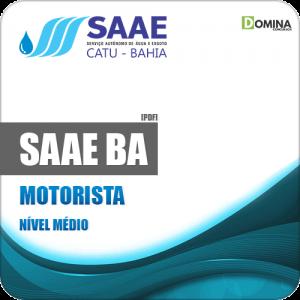 Apostila Concurso Público SAAE Catu BA 2019 Motorista