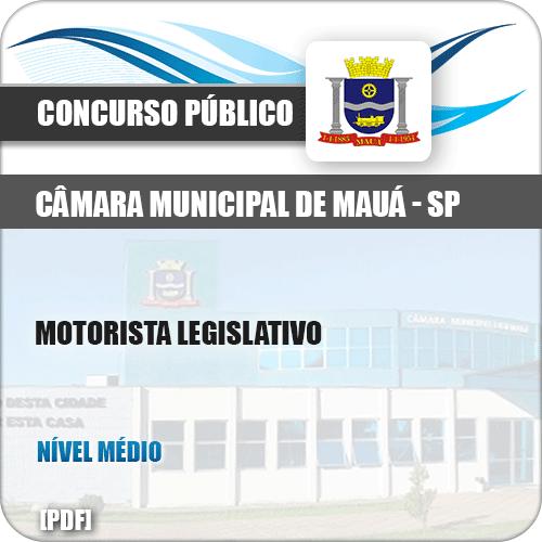 Apostila Câmara de Mauá SP 2019 Motorista Legislativo