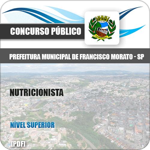 Apostila Pref Francisco Morato SP 2019 Nutricionista
