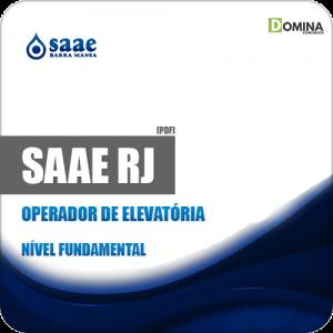 Apostila SAAE de Barra Mansa RJ 2019 Operador de Elevatória