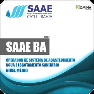 Apostila SAAE Catu BA 2019 Operador Abastecimento Água e Sanitário