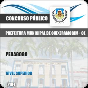Apostila Concurso Pref Quixeramobim CE 2019 Pedagogo