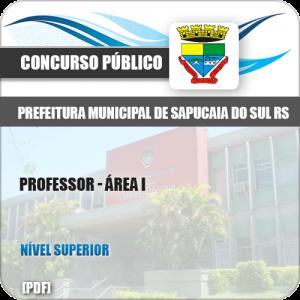 Apostila Pref Sapucaia do Sul RS 2019 Professor Área I