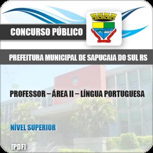 Apostila Sapucaia do Sul RS 2019 Professor II Língua Portuguesa