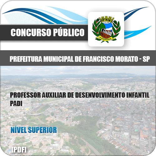 Apostila Francisco Morato SP 2019 Professor Desenvolvimento Infantil