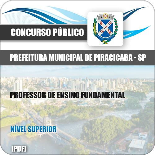 Apostila Pref Piracicaba SP 2019 Professor de Ensino Fundamental
