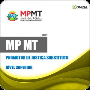 Apostila Concurso MP MT 2019 Promotor de Justiça Substituto