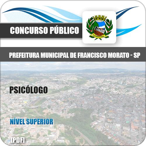 Apostila Concurso Pref Francisco Morato SP 2019 Psicólogo