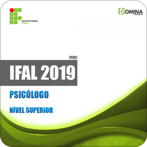 Apostila Concurso Público IFAL 2019 Psicólogo