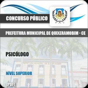Apostila Concurso Pref Quixeramobim CE 2019 Psicólogo