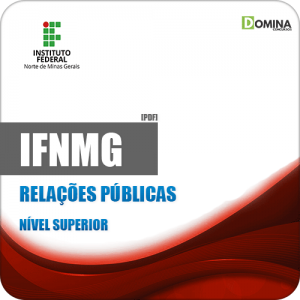 Apostila Concurso Público IFNMG 2019 Relações Públicas