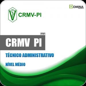 Apostila Concurso Público CRMV PI 2019 Técnico Administrativo