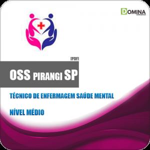Apostila OSS Pirangi SP 2019 Técnico de Enfermagem Saúde Mental