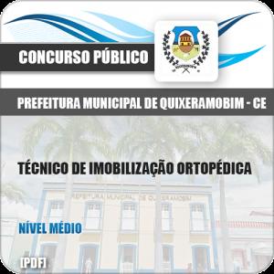 Apostila Pref Quixeramobim CE 2019 Técnico Imobilização Ortopédica